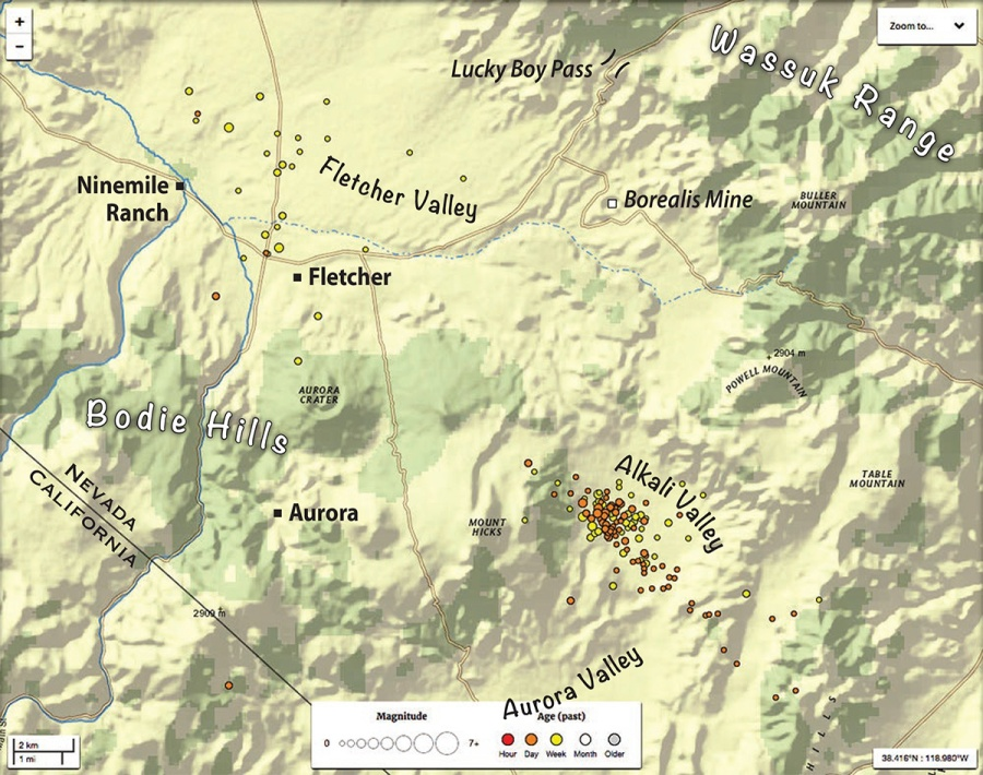 2017-04-14 Fletcher quakes map