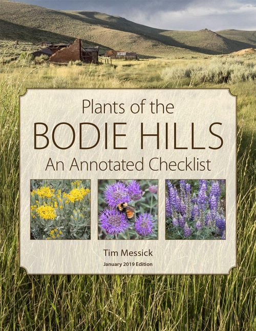 Plants of the Bodie Hills Checklist Cover 2019