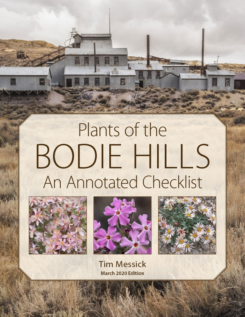 Plants of the Bodie Hills, 2020 edition