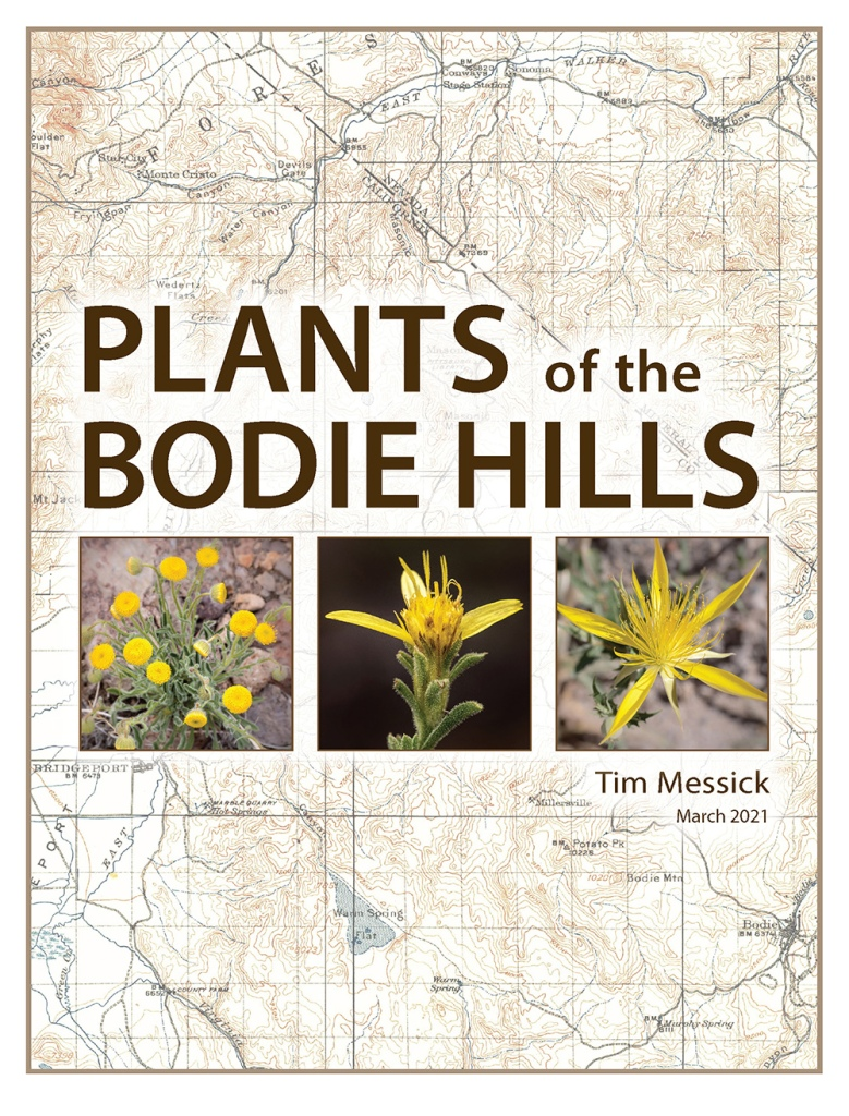 Cover of the March 2021 edition of Plants of the Bodie Hills
